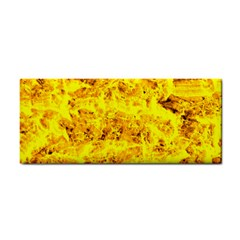 Yellow Abstract Background Cosmetic Storage Cases