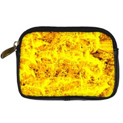 Yellow Abstract Background Digital Camera Cases