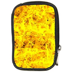 Yellow Abstract Background Compact Camera Cases