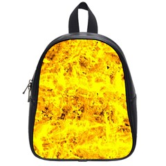 Yellow Abstract Background School Bags (small)