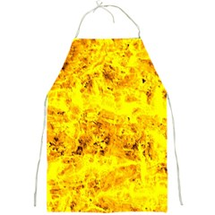 Yellow Abstract Background Full Print Aprons