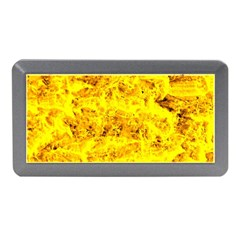 Yellow Abstract Background Memory Card Reader (mini)