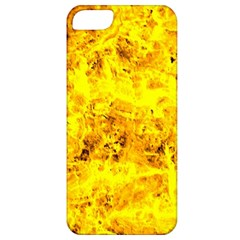 Yellow Abstract Background Apple Iphone 5 Classic Hardshell Case