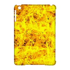 Yellow Abstract Background Apple Ipad Mini Hardshell Case (compatible With Smart Cover)