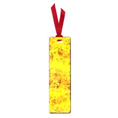Yellow Abstract Background Small Book Marks