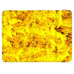 Yellow Abstract Background Samsung Galaxy Tab 7  P1000 Flip Case