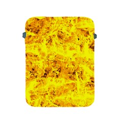 Yellow Abstract Background Apple Ipad 2/3/4 Protective Soft Cases