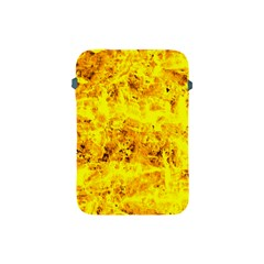 Yellow Abstract Background Apple Ipad Mini Protective Soft Cases