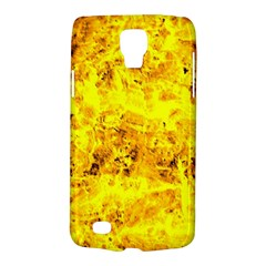Yellow Abstract Background Galaxy S4 Active