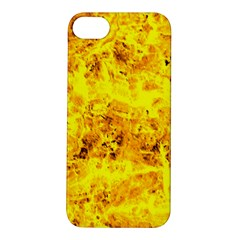 Yellow Abstract Background Apple Iphone 5s/ Se Hardshell Case