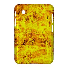 Yellow Abstract Background Samsung Galaxy Tab 2 (7 ) P3100 Hardshell Case