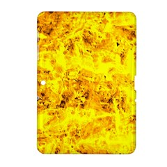 Yellow Abstract Background Samsung Galaxy Tab 2 (10.1 ) P5100 Hardshell Case