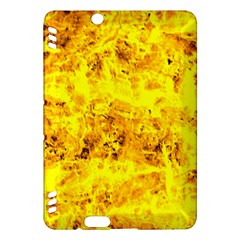Yellow Abstract Background Kindle Fire Hdx Hardshell Case