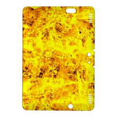 Yellow Abstract Background Kindle Fire Hdx 8 9  Hardshell Case