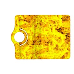 Yellow Abstract Background Kindle Fire Hd (2013) Flip 360 Case
