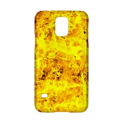 Yellow Abstract Background Samsung Galaxy S5 Hardshell Case