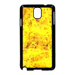 Yellow Abstract Background Samsung Galaxy Note 3 Neo Hardshell Case (black)