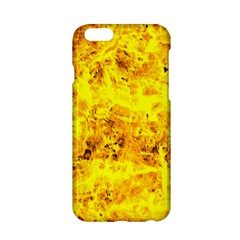 Yellow Abstract Background Apple Iphone 6/6s Hardshell Case