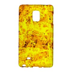 Yellow Abstract Background Galaxy Note Edge