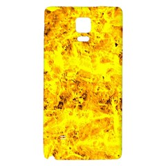 Yellow Abstract Background Galaxy Note 4 Back Case