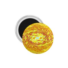 Yellow Seamless Psychedelic Pattern 1 75  Magnets