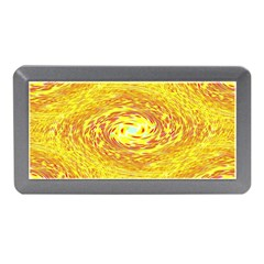 Yellow Seamless Psychedelic Pattern Memory Card Reader (mini)
