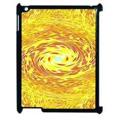 Yellow Seamless Psychedelic Pattern Apple Ipad 2 Case (black)