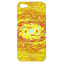 Yellow Seamless Psychedelic Pattern Apple Iphone 5 Hardshell Case