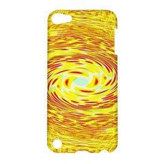 Yellow Seamless Psychedelic Pattern Apple Ipod Touch 5 Hardshell Case