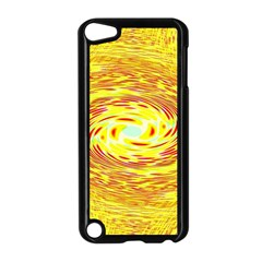 Yellow Seamless Psychedelic Pattern Apple Ipod Touch 5 Case (black)