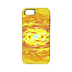 Yellow Seamless Psychedelic Pattern Apple Iphone 5 Classic Hardshell Case (pc+silicone)