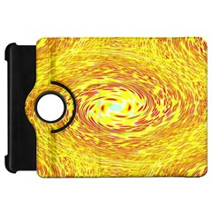 Yellow Seamless Psychedelic Pattern Kindle Fire Hd 7