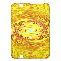 Yellow Seamless Psychedelic Pattern Kindle Fire Hd 8 9