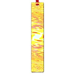 Yellow Seamless Psychedelic Pattern Large Book Marks
