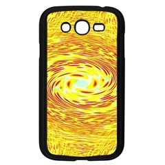Yellow Seamless Psychedelic Pattern Samsung Galaxy Grand Duos I9082 Case (black)