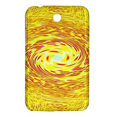 Yellow Seamless Psychedelic Pattern Samsung Galaxy Tab 3 (7 ) P3200 Hardshell Case