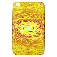 Yellow Seamless Psychedelic Pattern Samsung Galaxy Tab 3 (8 ) T3100 Hardshell Case