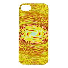 Yellow Seamless Psychedelic Pattern Apple Iphone 5s/ Se Hardshell Case
