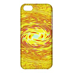 Yellow Seamless Psychedelic Pattern Apple Iphone 5c Hardshell Case