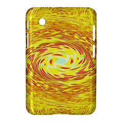 Yellow Seamless Psychedelic Pattern Samsung Galaxy Tab 2 (7 ) P3100 Hardshell Case