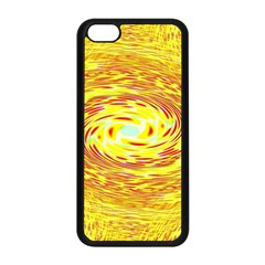 Yellow Seamless Psychedelic Pattern Apple Iphone 5c Seamless Case (black)