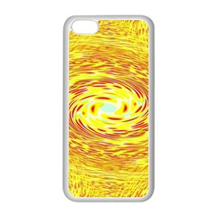 Yellow Seamless Psychedelic Pattern Apple Iphone 5c Seamless Case (white)