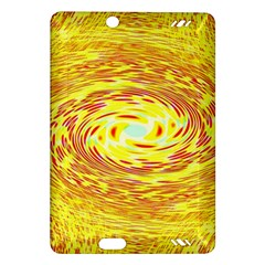 Yellow Seamless Psychedelic Pattern Amazon Kindle Fire Hd (2013) Hardshell Case