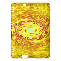 Yellow Seamless Psychedelic Pattern Kindle Fire Hdx Hardshell Case