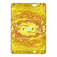 Yellow Seamless Psychedelic Pattern Kindle Fire Hdx 8 9  Hardshell Case