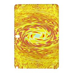 Yellow Seamless Psychedelic Pattern Samsung Galaxy Tab Pro 10 1 Hardshell Case