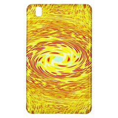 Yellow Seamless Psychedelic Pattern Samsung Galaxy Tab Pro 8.4 Hardshell Case
