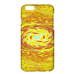 Yellow Seamless Psychedelic Pattern Apple Iphone 6 Plus/6s Plus Hardshell Case