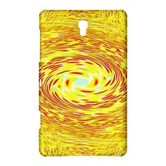 Yellow Seamless Psychedelic Pattern Samsung Galaxy Tab S (8 4 ) Hardshell Case