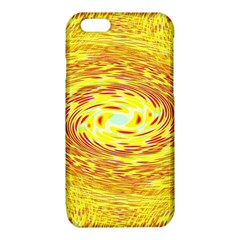 Yellow Seamless Psychedelic Pattern iPhone 6/6S TPU Case